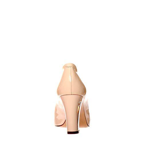 Кожаные туфли Giorgio Fabiani лаковые бежевого цвета, фото