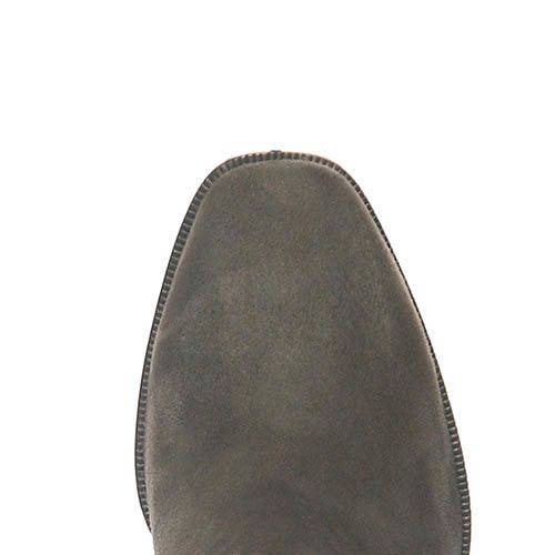 Демисезонные замшевые ботинки Giorgio Fabiani серого цвета на молнии, фото