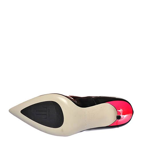 Туфли Loriblu из кожи лаковые черного цвета, фото