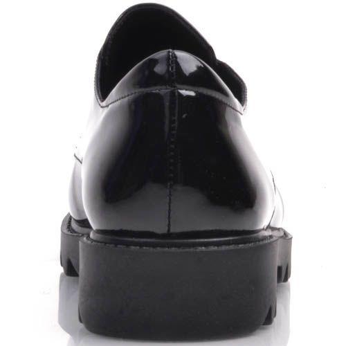 Ботинки Prego черные с зубчастой подошвой и металличеким декором в виде герба, фото
