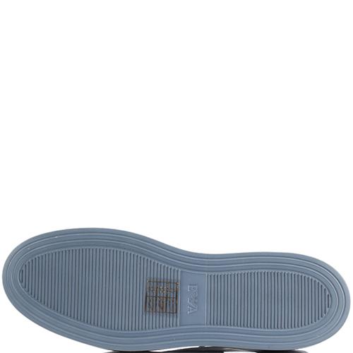 Кеды Emporio Armani синего цвет, фото