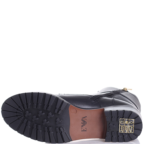Ботинки Emporio Armani с золотистым декором, фото