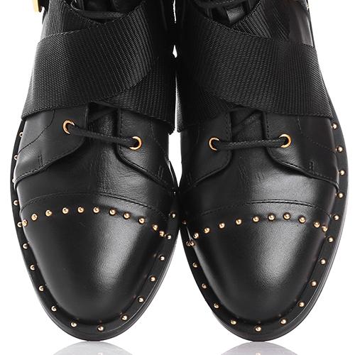 Ботинки Elisabetta Franchi с декором-заклепками, фото