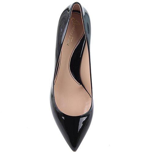 Туфли Giordano Torresi Torino на небольшом каблуке с заостренным носочком, фото