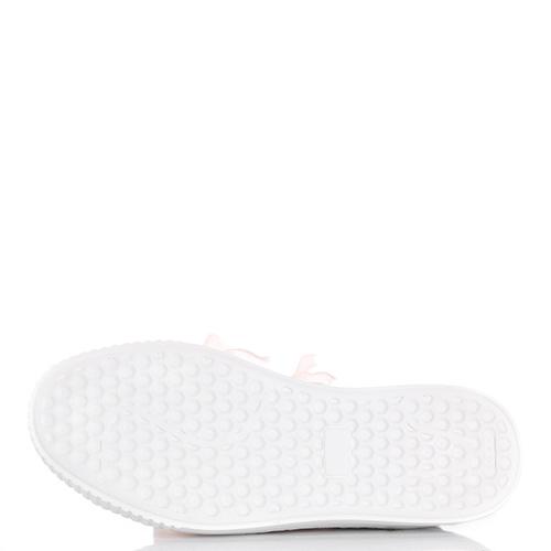 Белые слипоны Tosca Blu на платформе, фото
