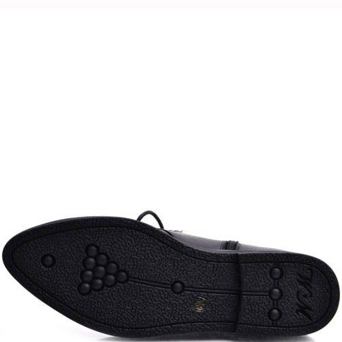 Ботинки Prego женские на шнуровке с металлическим декором, фото