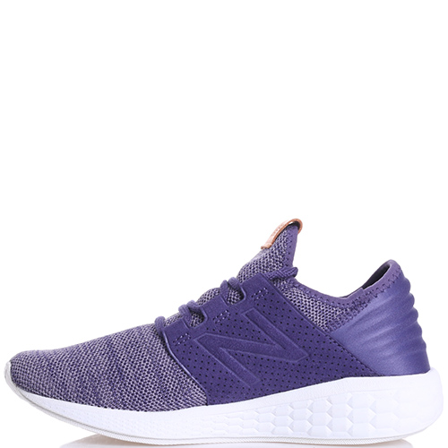 Беговые кроссовки New Balance Fresh Foam Cruz V2 фиолетового цвета, фото
