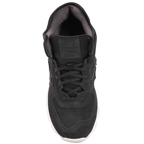 Кроссовки New Balance 574 темно-серого цвета, фото
