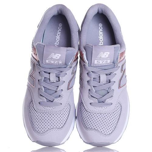 Кроссовки New Balance 574 серого цвета, фото