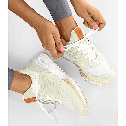 Кроссовки New Balance 574 на рельефной подошве, фото