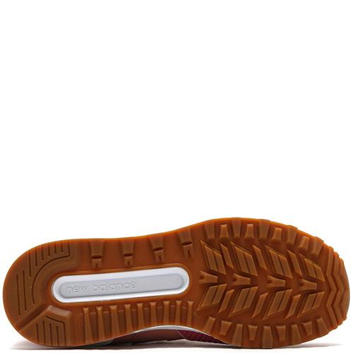 Женские кроссовки New Balance 574 оранжевого цвета, фото