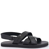 Мужские сандалии Baldinini черного цвета, фото
