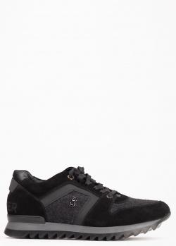 Мужские черные кроссовки Bogner, фото