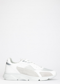 Белые кроссовки Iceberg из гладкой кожи, фото