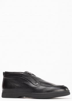 Утепленные туфли Baldinini из черной кожи, фото