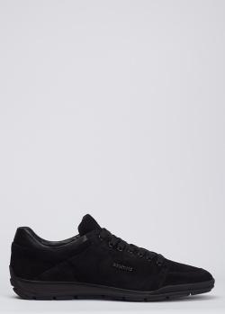 Черные кроссовки Dino Bigioni из замши, фото