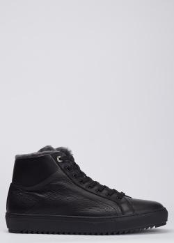 Черные ботинки Dino Bigioni из кожи, фото