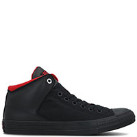 Высокие черные кеды Converse Chuck Taylor All Star High Street, фото