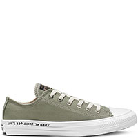 Зеленые кеды Converse Chuck Taylor All Star Renew, фото