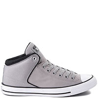 Серые мужские кеды Converse Chuck Taylor All Star High Street, фото