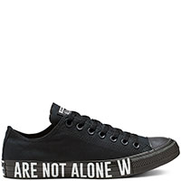 Мужские кеды Converse Chuck Taylor All Star We are not Ox с надписью на подошве, фото