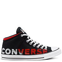 Кеды с лого Converse Chuck Taylor All Star High Street, фото