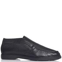 Мужские ботинки Santoni черного цвета, фото