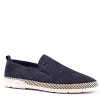 Замшевые туфли Roberto Serpentini синего цвета, фото
