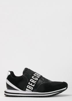 Черные кроссовки Bikkembergs с логотипом, фото
