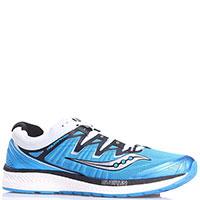 Текстильные кроссовки Saucony Triumph Iso 4 синего цвета, фото