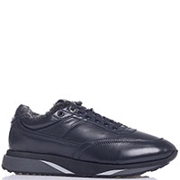 Мужские кроссовки Santoni синего цвета, фото