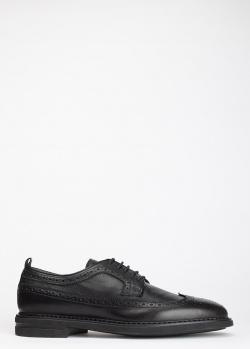 Туфли-дерби Dino Bigioni черного цвета, фото