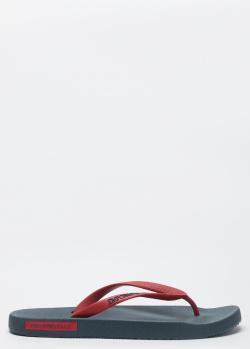 Мужские шлепанцы Emporio Armani с толстой подошвой, фото