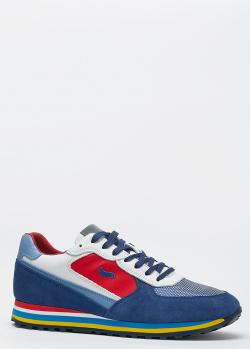 Мужские кроссовки Harmont&Blaine с цветными вставками, фото