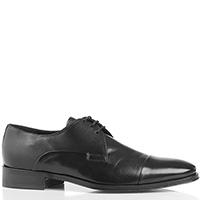 Классические мужские туфли Melluso из гладкой кожи, фото