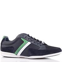 Кроссовки Hugo Boss с вставками зеленого цвета, фото