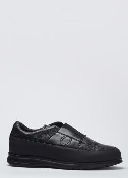 Черные туфли Pakerson из натуральной кожи, фото