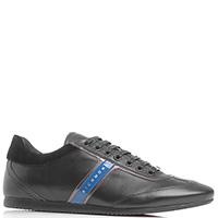 Спортивные туфли John Richmond из кожи черного цвета, фото