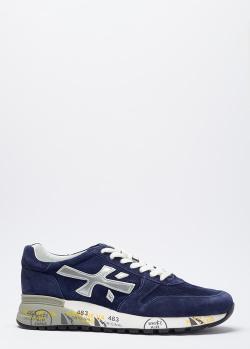 Кроссовки на шнуровке Premiata на толстой подошве, фото