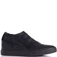 Черные ботинки Bikkembergs с рельефными вставками, фото
