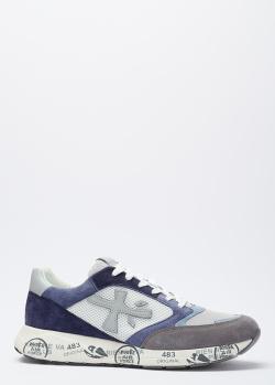 Летние кроссовки Premiata на толстой подошве, фото