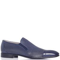 Мужские синие туфли Aldo Brue без шнуровки, фото