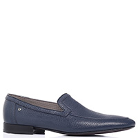 Туфли Aldo Brue из кожи синего цвета, фото