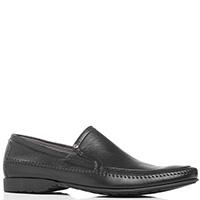 Туфли черные Aldo Brue из мягкой кожи, фото