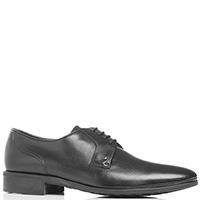 Туфли черные Aldo Brue на шнуровке, фото