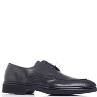 Черные туфли Aldo Brue из гладкой кожи, фото