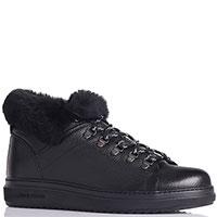 Ботинки на меху Luca Guerrini черного цвета, фото