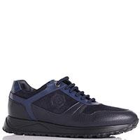 Мужские кроссовки Luca Guerrini темно-синего цвета, фото