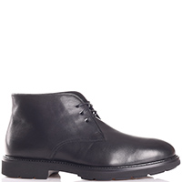 Черные ботинки Camerlengo из гладкой кожи, фото
