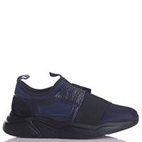 Текстильные кроссовки Stokton синего цвета, фото